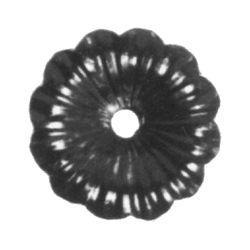 R 116/A/3 kovácsoltvas levelek, virágok