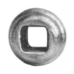 R 128/2 kovácsoltvas fűzhető és közbenső díszek