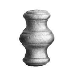 R 128/7 kovácsoltvas fűzhető és közbenső díszek