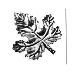 R 138/13 kovácsoltvas levelek, virágok
