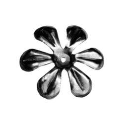 R 138/5 kovácsoltvas levelek, virágok