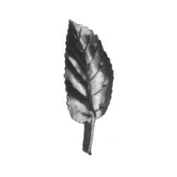 R 138/9 kovácsoltvas levelek, virágok