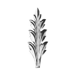 R 139/4 kovácsoltvas levelek, virágok