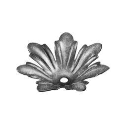 R 140/8 kovácsoltvas levelek, virágok