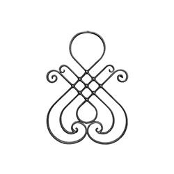 R 1657/4 kovácsoltvas rozetták