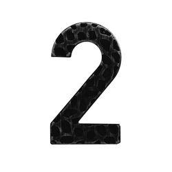 R 171/2 kovácsoltvas számok, levélbedobók