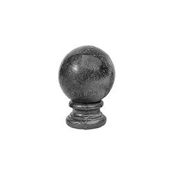 R 24-2-14 kovácsoltvas korlátgömbök