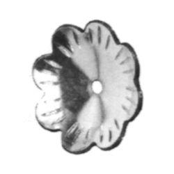 R 40/B/12 kovácsoltvas levelek, virágok
