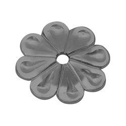 R 660/12 kovácsoltvas levelek, virágok
