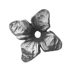 R 695/4 kovácsoltvas levelek, virágok