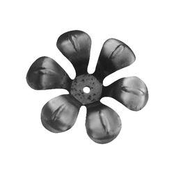 R 711/1 kovácsoltvas levelek, virágok