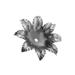 R 711/6 kovácsoltvas levelek, virágok