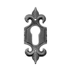 R 839/9 kovácsoltvas kilincsek, zártakaró lemezek