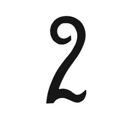 R 851/2 kovácsoltvas számok, levélbedobók