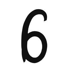 R 851/6 kovácsoltvas számok, levélbedobók