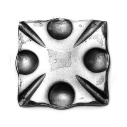 R 94/A/6 kovácsoltvas talplemezek, takarások