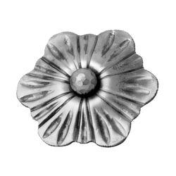 R 94/B/6 kovácsoltvas levelek, virágok