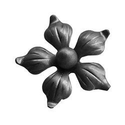 RF 9330 kovácsoltvas levelek, virágok