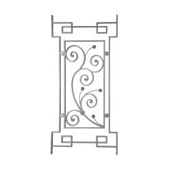 RGD 202/3 kovácsoltvas korlátpálcák