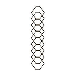RGD 299/3 kovácsoltvas korlátpálcák