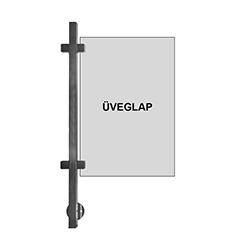 RFE0287 rozsdamentes korlátoszlopok