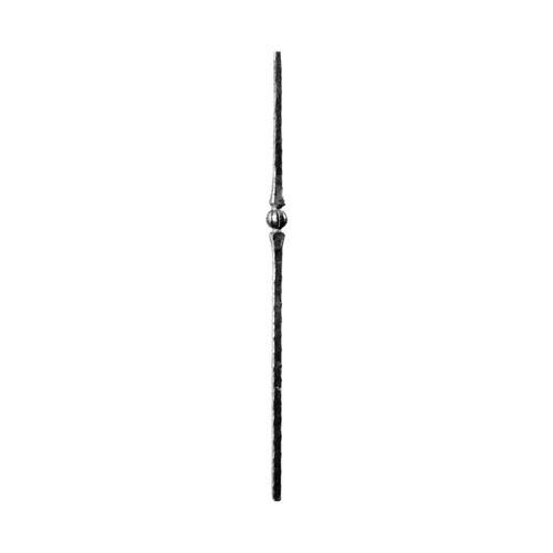 R 112/7 kovácsoltvas korlát indító oszlopok
