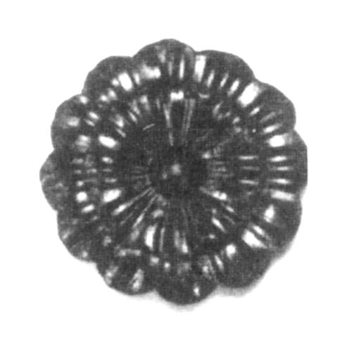 R 116/A/5 kovácsoltvas levelek, virágok