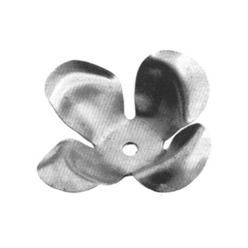 R 136/9 kovácsoltvas levelek, virágok