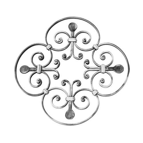 R 1655/1 kovácsoltvas rozetták