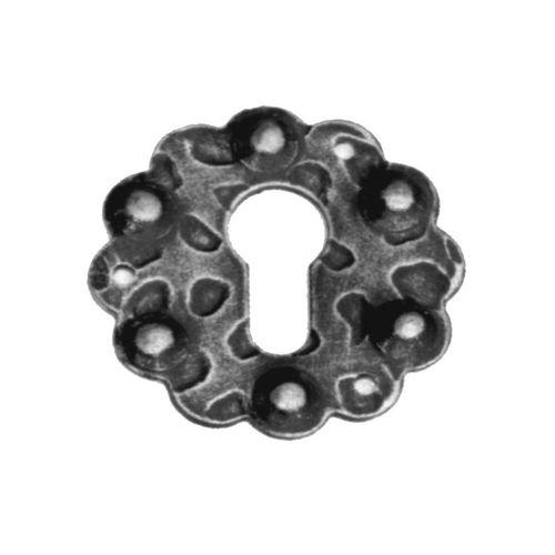 R 170/2 kovácsoltvas kilincsek, zártakaró lemezek