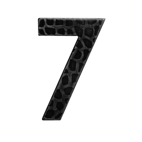 R 171/7 kovácsoltvas számok, levélbedobók