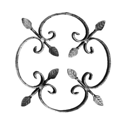 R 23/2 kovácsoltvas rozetták