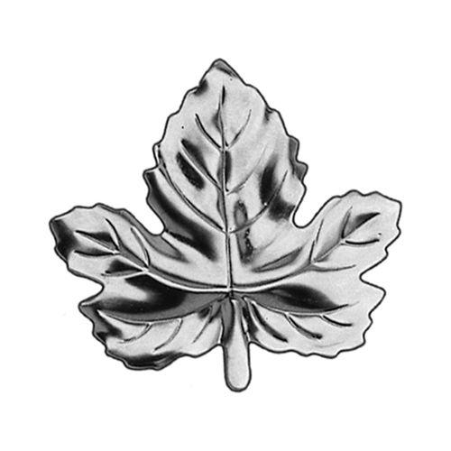 R 709/9 kovácsoltvas levelek, virágok