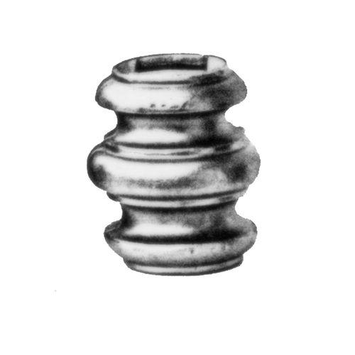 R 741/8 kovácsoltvas fűzhető és közbenső díszek