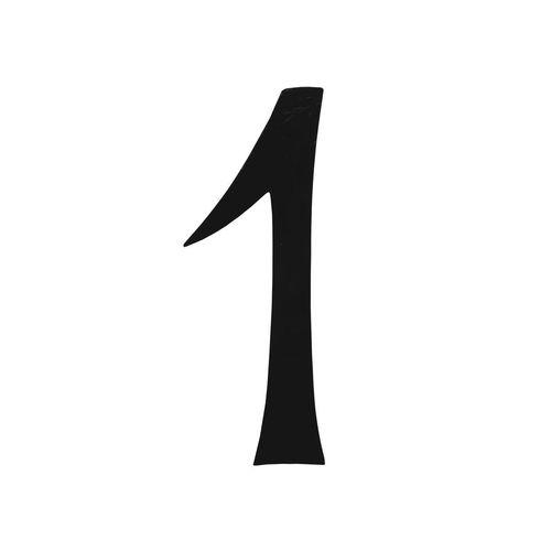 R 851/1 kovácsoltvas számok, levélbedobók