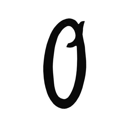 R 851/10 kovácsoltvas számok, levélbedobók
