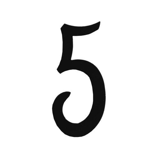 R 851/5 kovácsoltvas számok, levélbedobók