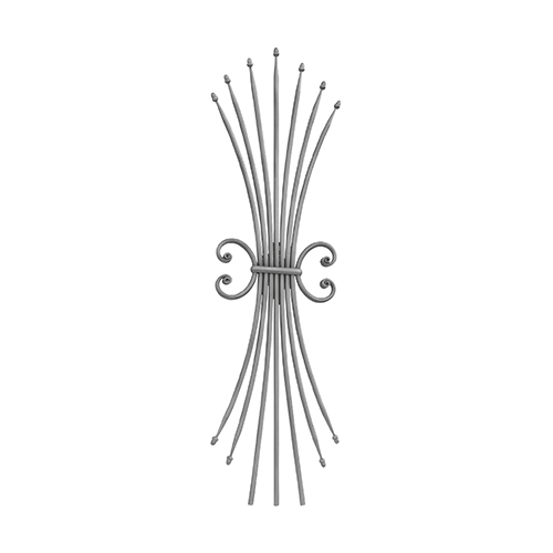 RGD 255/1 kovácsoltvas korlátpálcák
