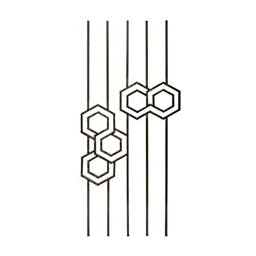 RGD 301/3 kovácsoltvas korlátpálcák